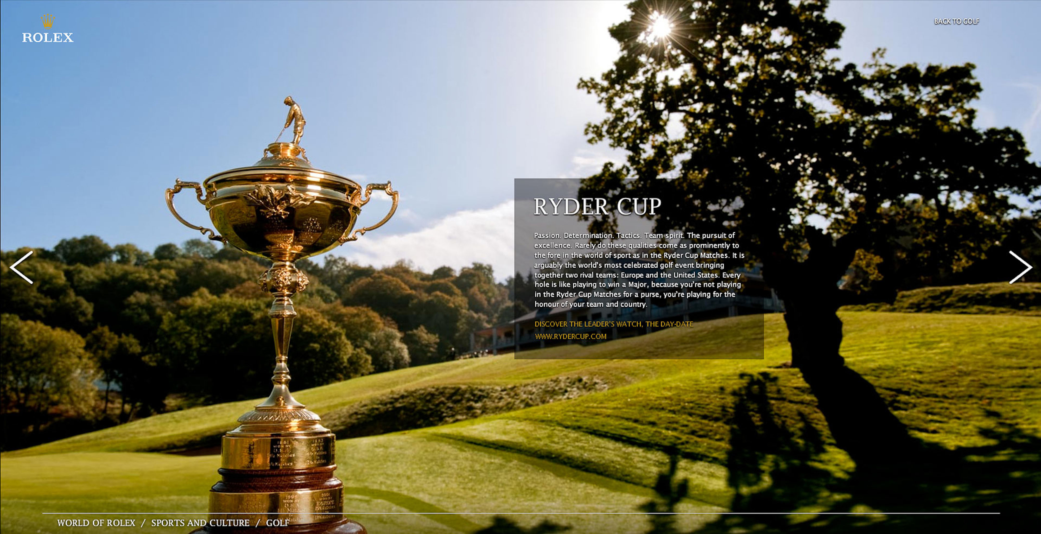 Sunrise with Golf Ryder Cup, Celtic Manor, Wales