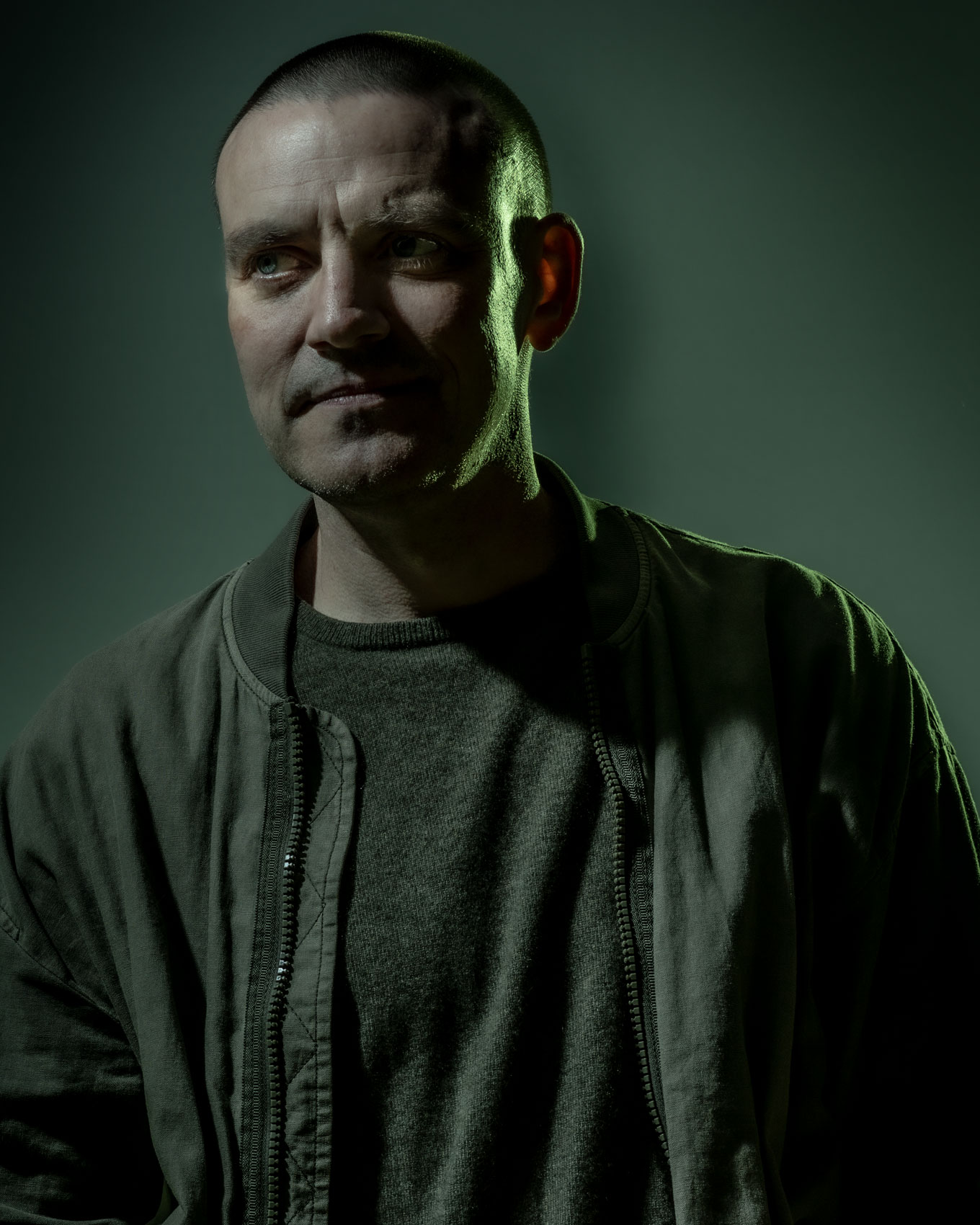 Scottish Graphic Novelist and writer Frank Quitely by Chris Close