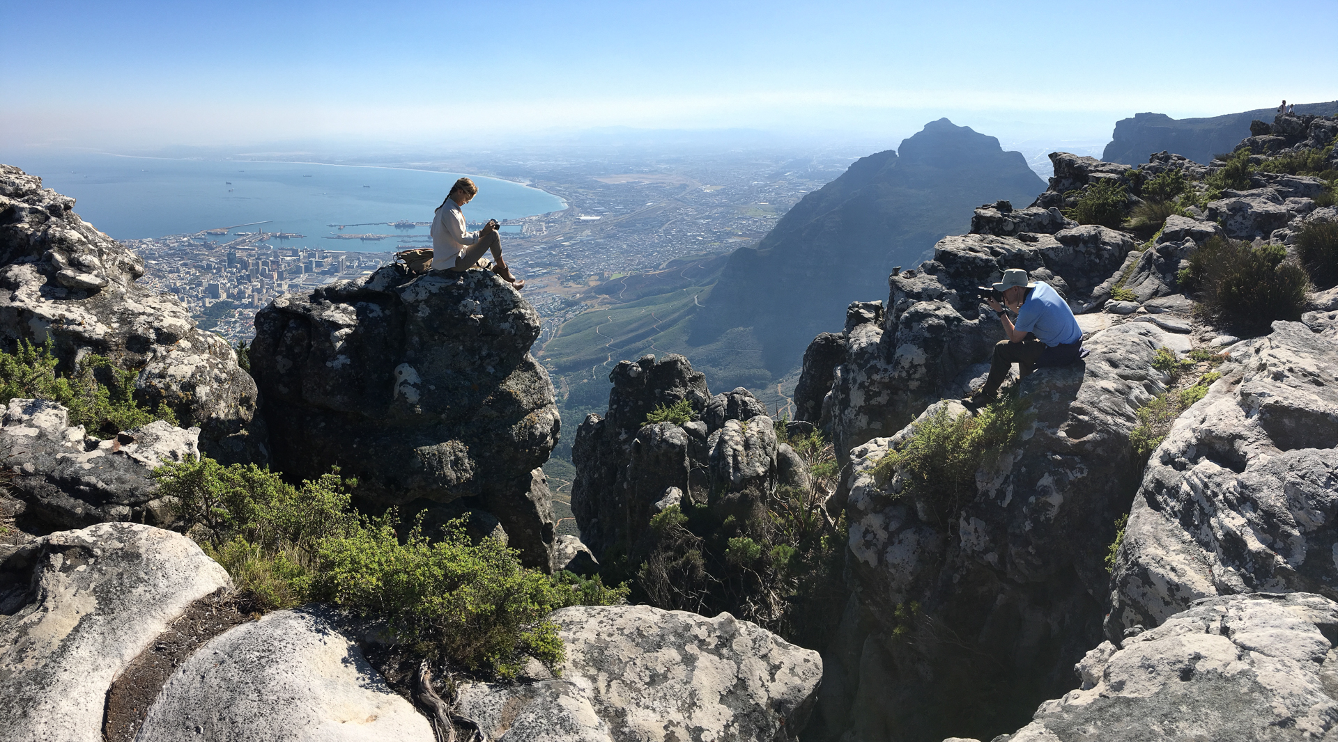 Shooting at Table Mountain