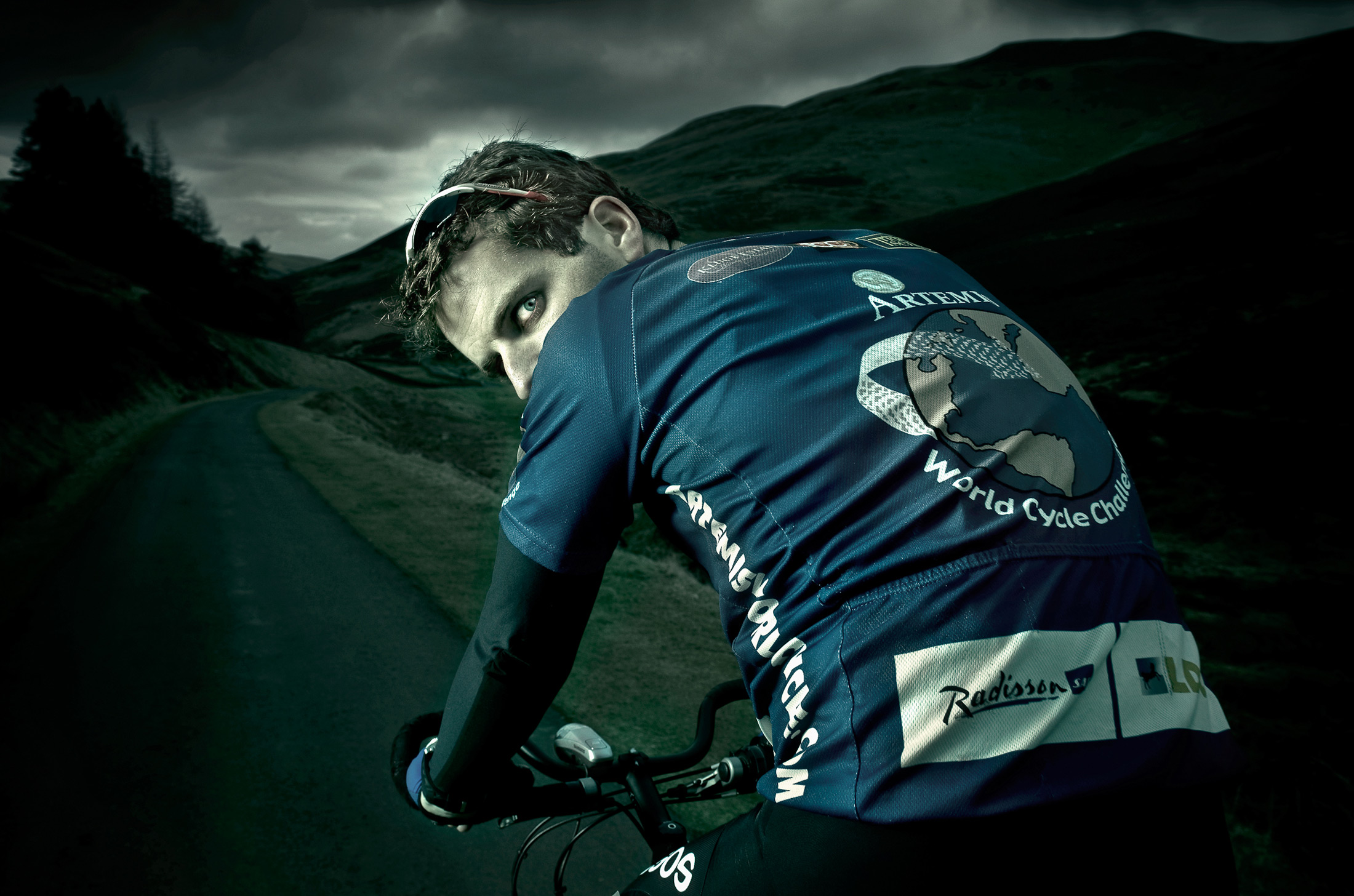 Round the World Cyclist, Mark Beaumont